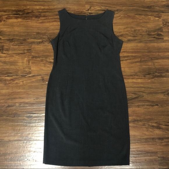 Julian Taylor Dresses & Skirts - Julian Taylor Dark Gray Sleeveless Sheath Dress